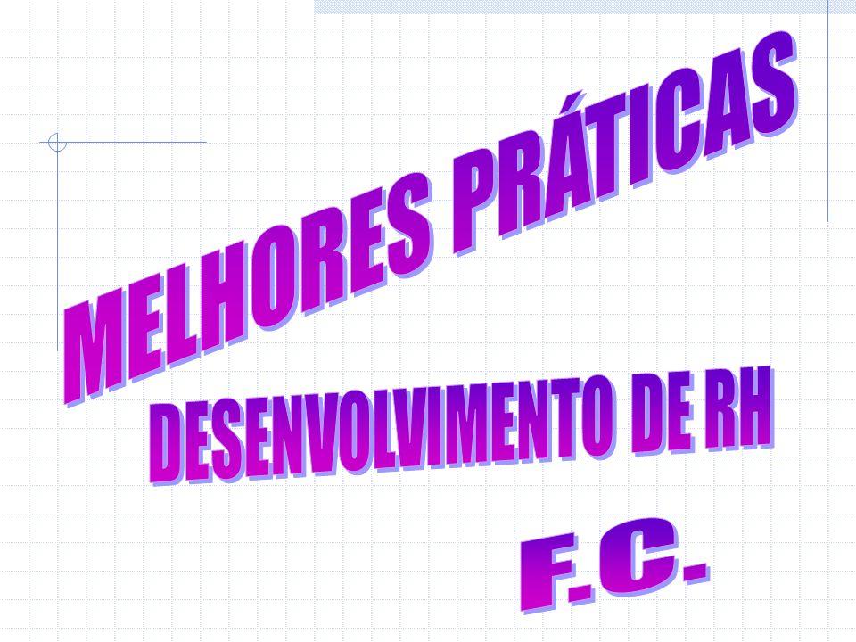 MELHORES PRÁTICAS DESENVOLVIMENTO DE RH F.C.