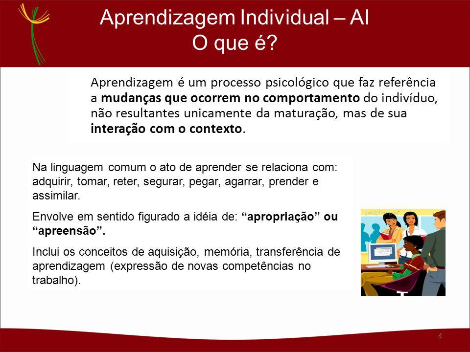 Aprendizagem Individual – AI O que é
