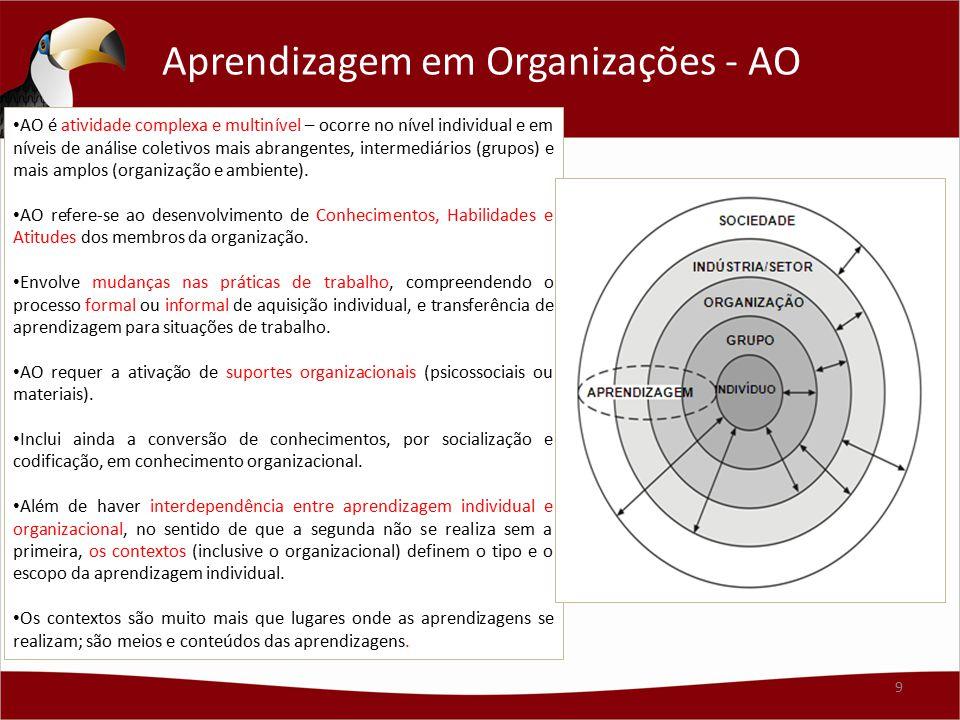 Aprendizagem em Organizações - AO