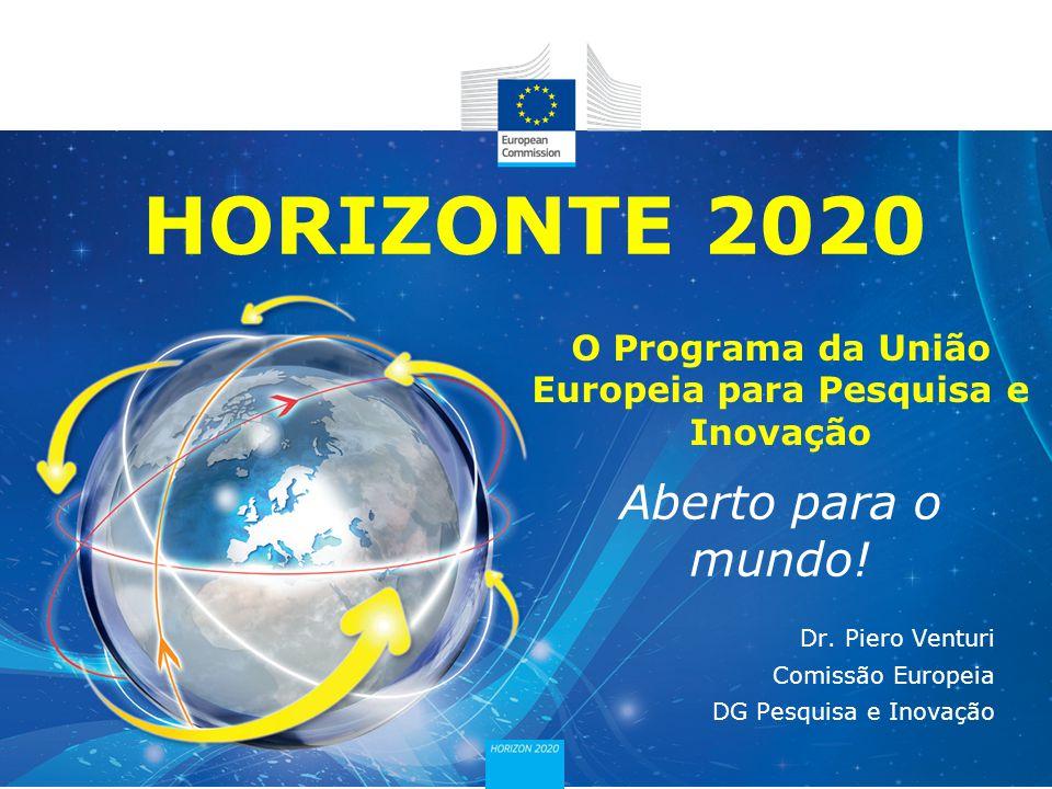 O Programa da União Europeia para Pesquisa e Inovação