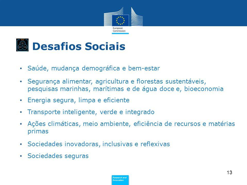 Desafios Sociais Saúde, mudança demográfica e bem-estar