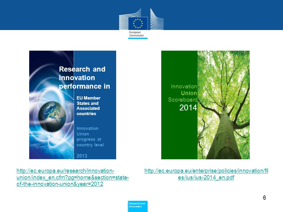 2014 Research and Innovation performance in Innovation Union