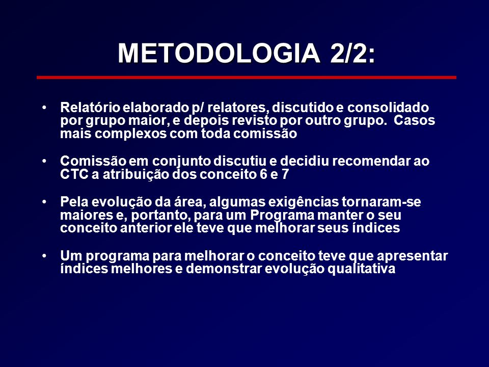 METODOLOGIA 2/2: