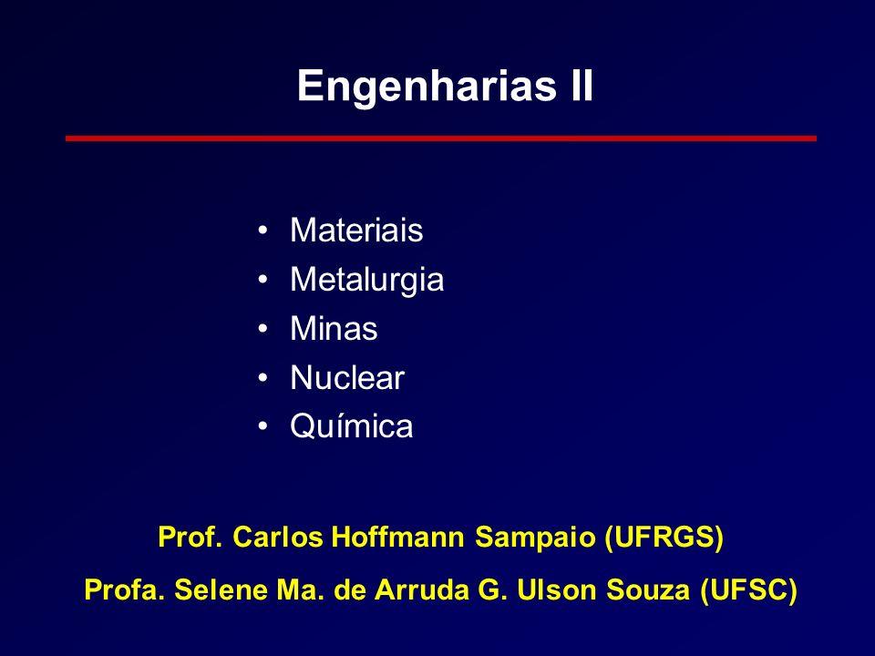 Engenharias II Materiais Metalurgia Minas Nuclear Química