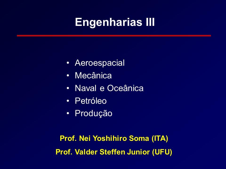 Prof. Nei Yoshihiro Soma (ITA) Prof. Valder Steffen Junior (UFU)