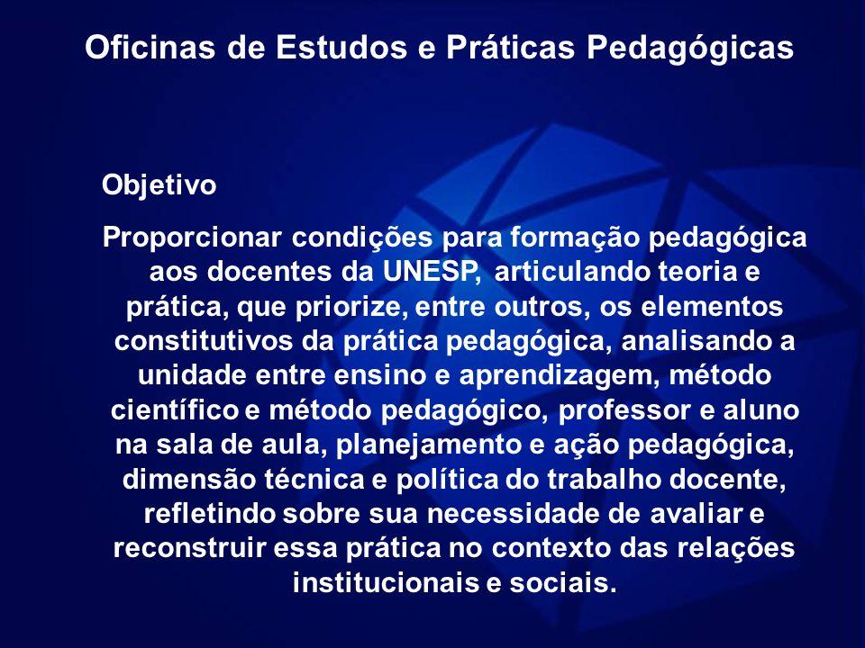 Oficinas de Estudos e Práticas Pedagógicas
