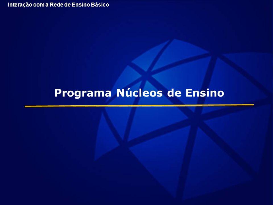 Programa Núcleos de Ensino