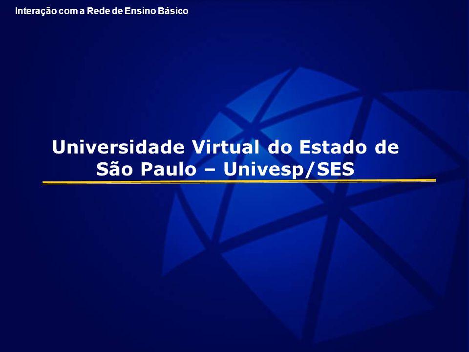 Universidade Virtual do Estado de São Paulo – Univesp/SES