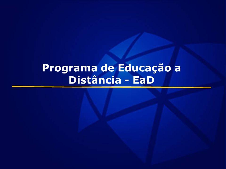 Programa de Educação a Distância - EaD