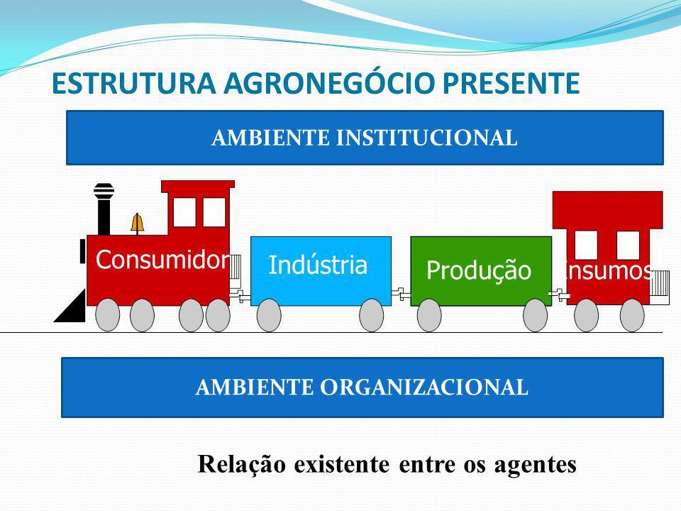 ESTRUTURA AGRONEGÓCIO PRESENTE