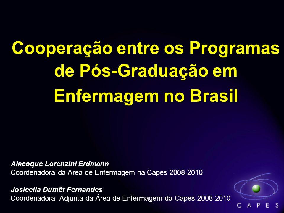 Cooperação entre os Programas de Pós-Graduação em