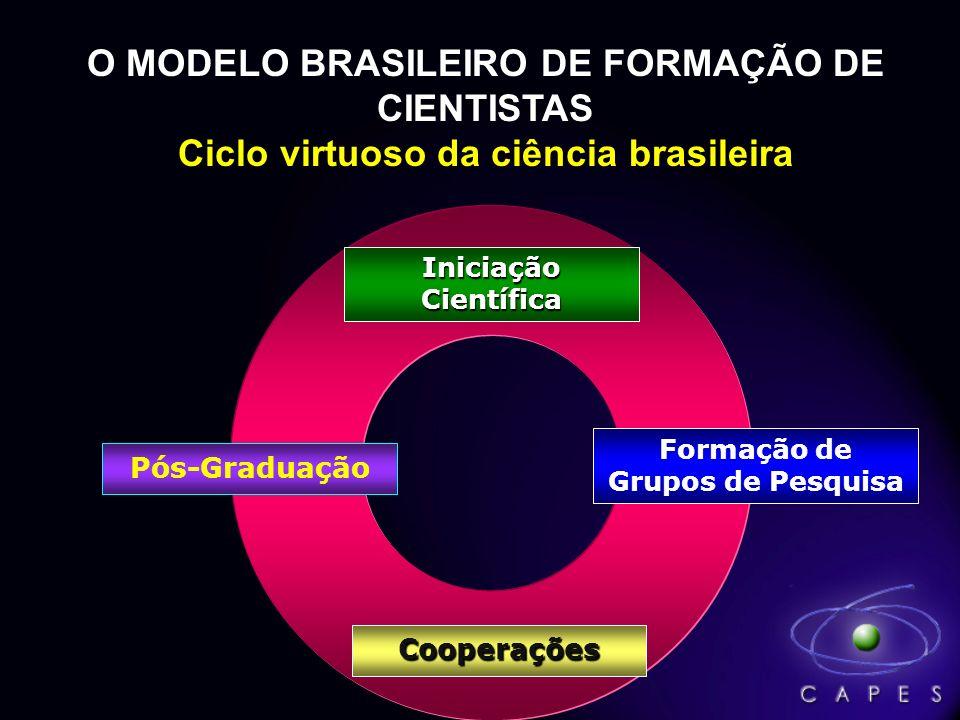 O MODELO BRASILEIRO DE FORMAÇÃO DE CIENTISTAS