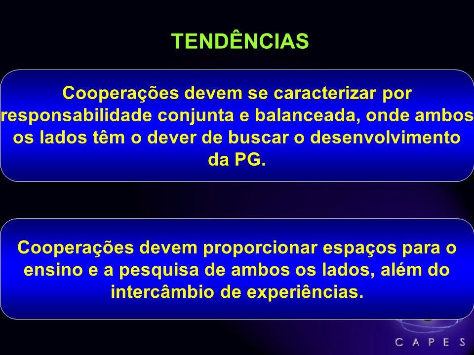 TENDÊNCIAS Cooperações devem se caracterizar por