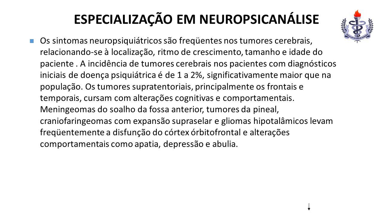 ESPECIALIZAÇÃO EM NEUROPSICANÁLISE