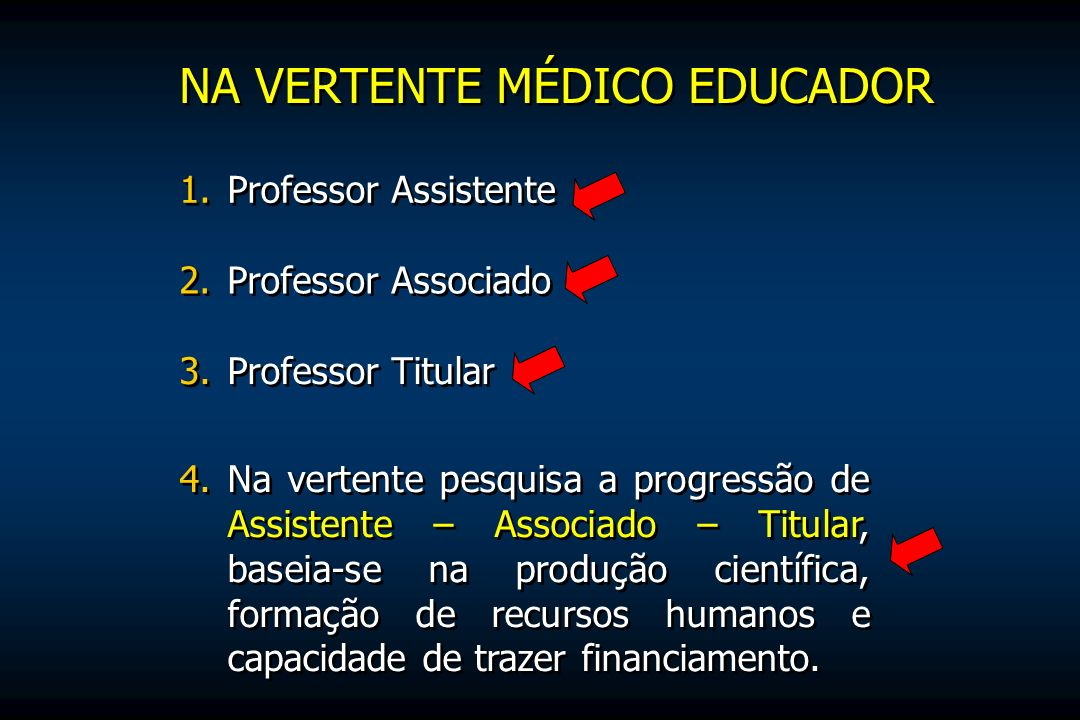 NA VERTENTE MÉDICO EDUCADOR