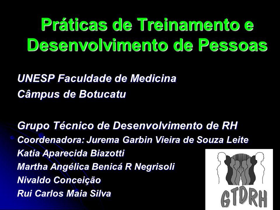 Práticas de Treinamento e Desenvolvimento de Pessoas