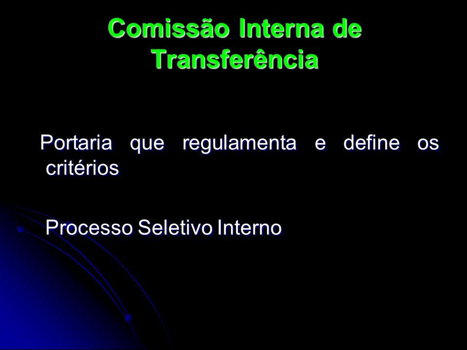 Comissão Interna de Transferência
