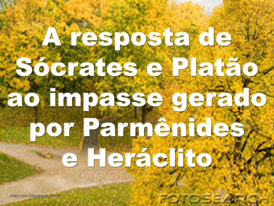 A resposta de Sócrates e Platão ao impasse gerado por Parmênides