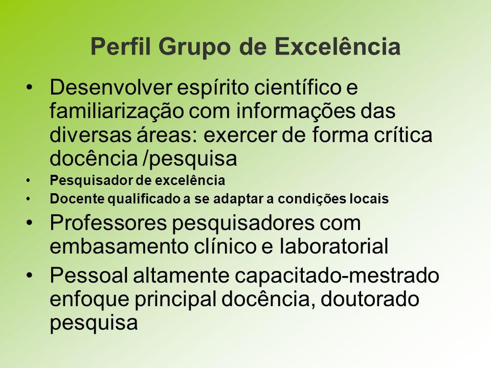 Perfil Grupo de Excelência