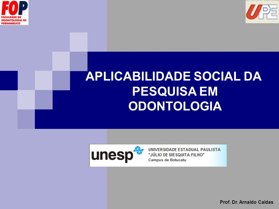 APLICABILIDADE SOCIAL DA
