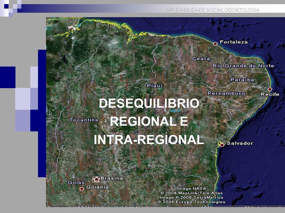 DESEQUILIBRIO REGIONAL E INTRA-REGIONAL