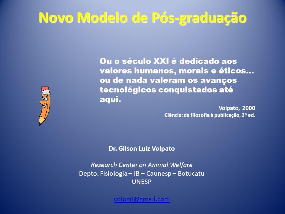 Novo Modelo de Pós-graduação