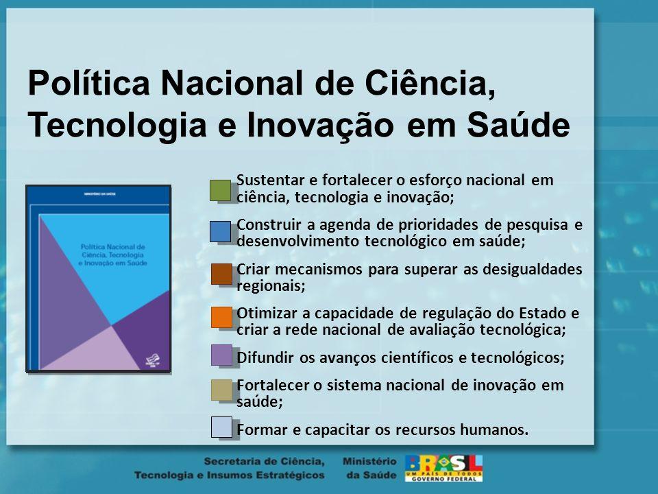 Política Nacional de Ciência, Tecnologia e Inovação em Saúde
