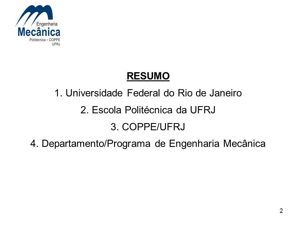 Universidade Federal do Rio de Janeiro Escola Politécnica da UFRJ