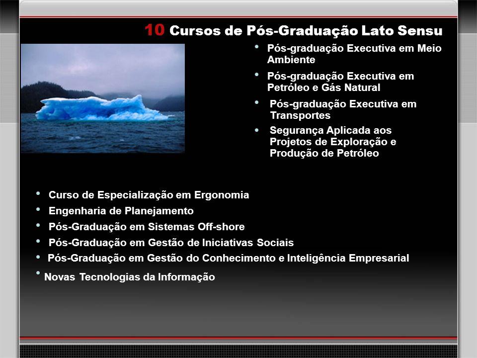 10 Cursos de Pós-Graduação Lato Sensu