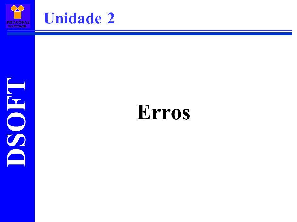 Unidade 2 Erros