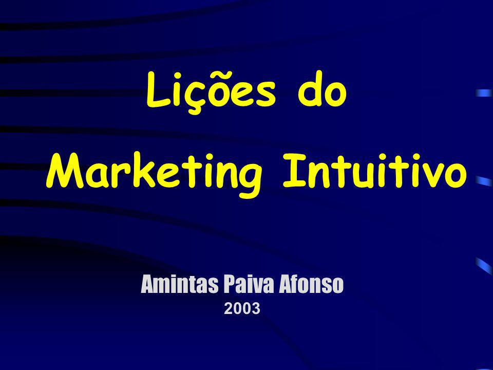 Lições do Marketing Intuitivo