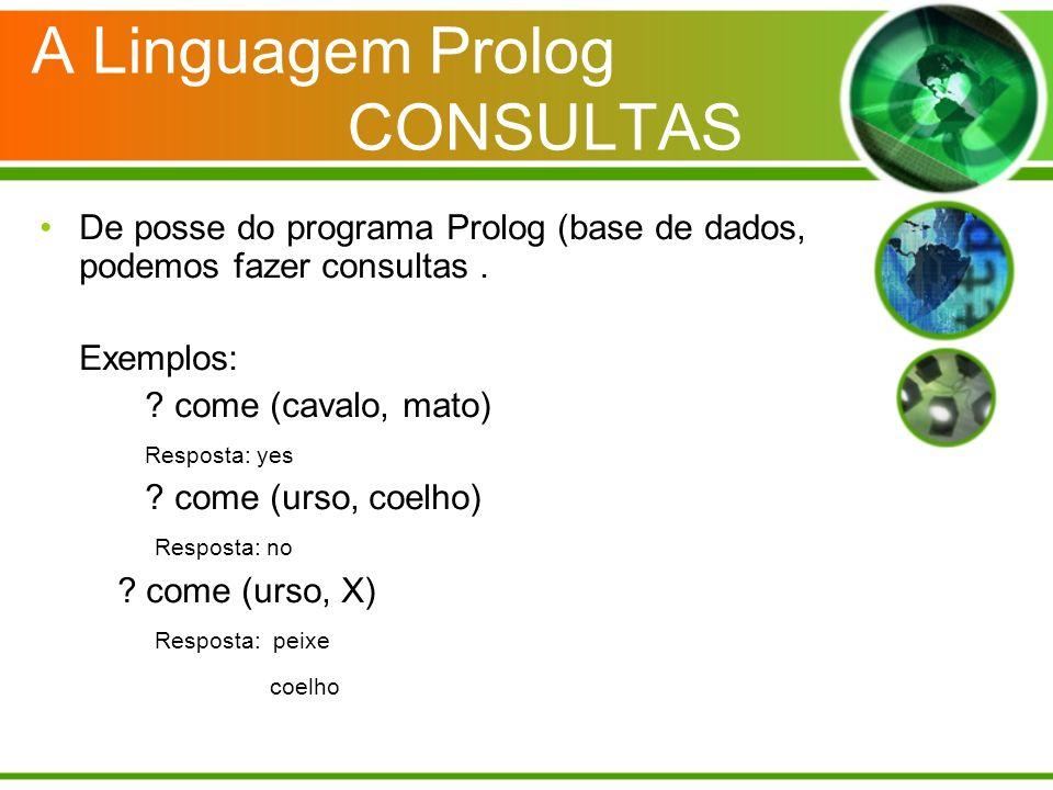 A Linguagem Prolog CONSULTAS