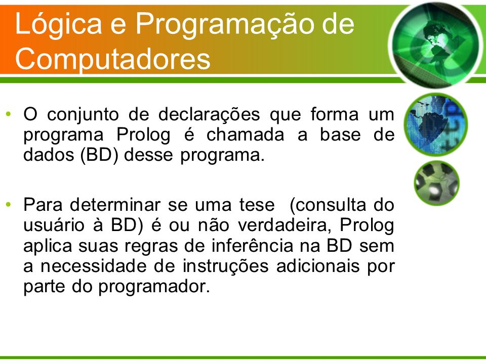 Lógica e Programação de Computadores