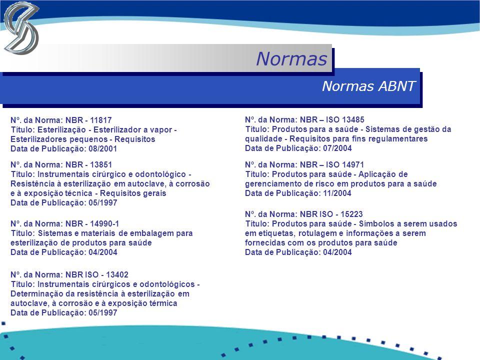 Normas Normas ABNT.