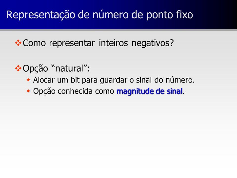 Representação de número de ponto fixo