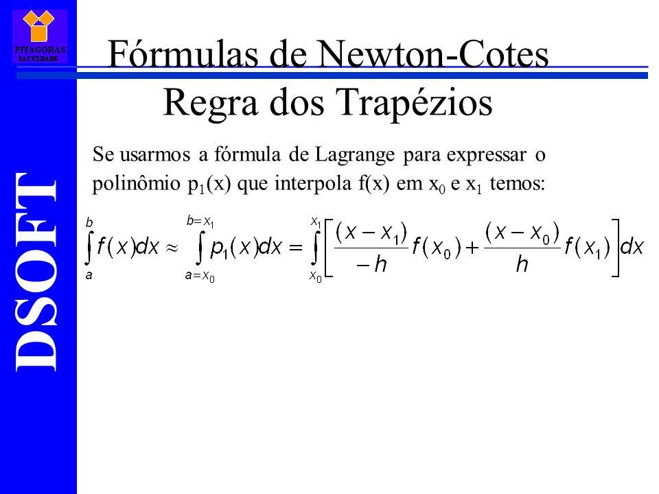 Fórmulas de Newton-Cotes Regra dos Trapézios