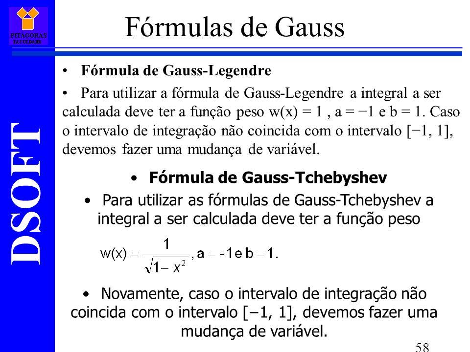 Fórmula de Gauss-Tchebyshev