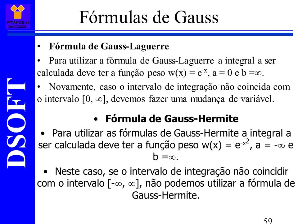 Fórmula de Gauss-Hermite