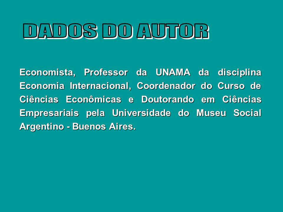 DADOS DO AUTOR