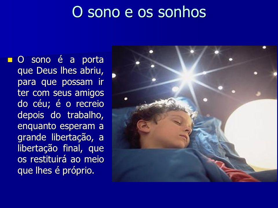 O sono e os sonhos