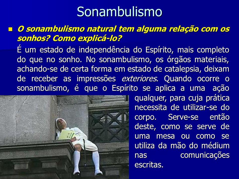 Sonambulismo O sonambulismo natural tem alguma relação com os sonhos Como explicá-lo