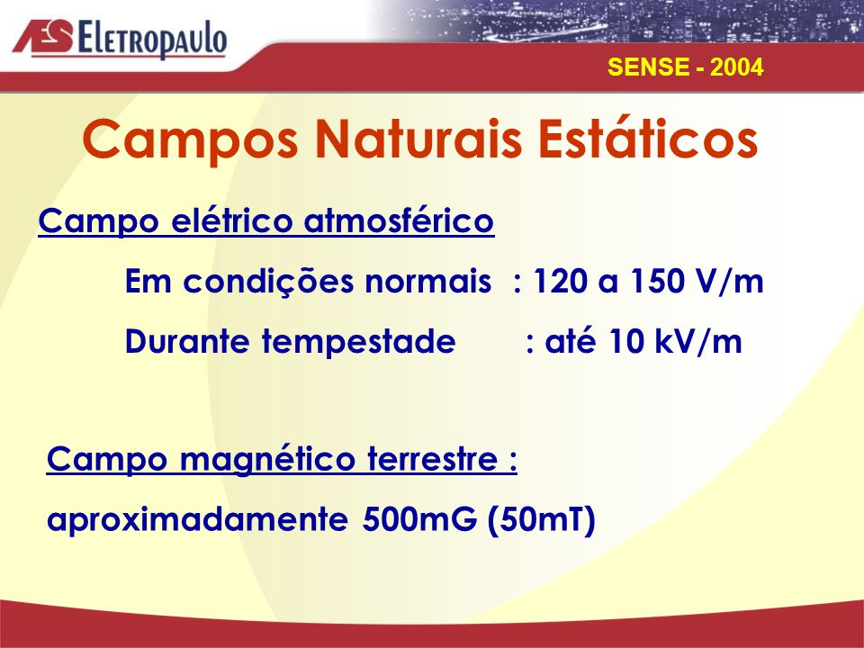 Campos Naturais Estáticos