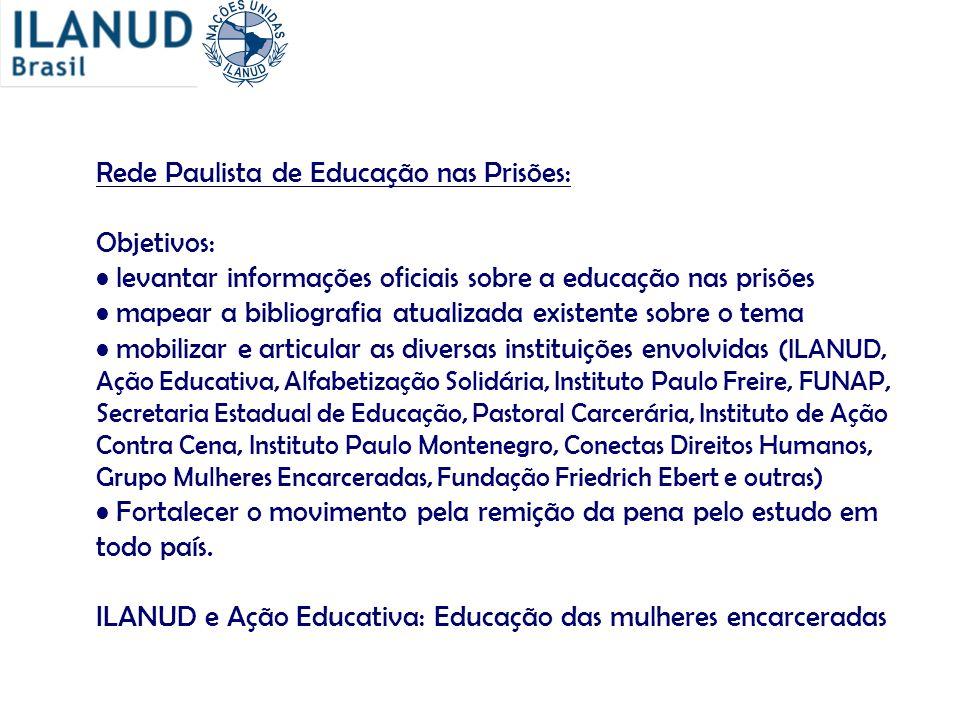 Rede Paulista de Educação nas Prisões: