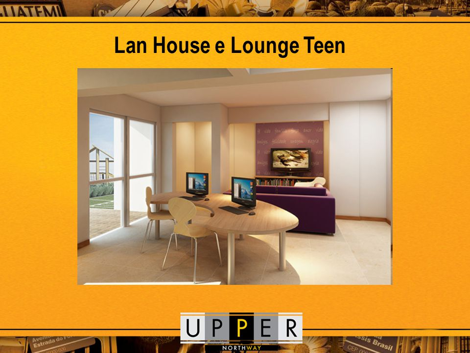 Lan House e Lounge Teen