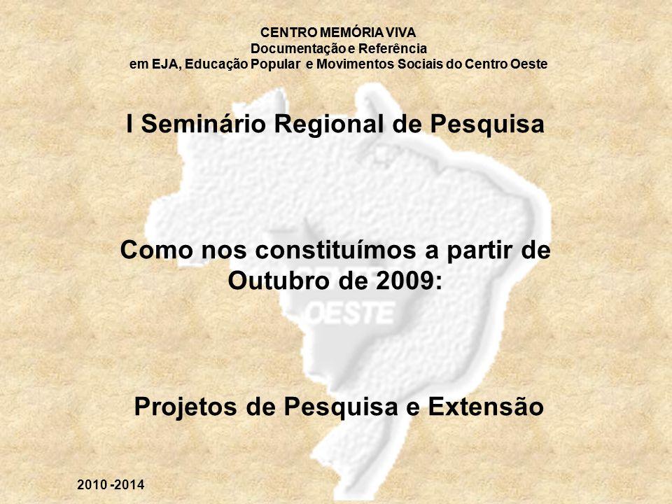 I Seminário Regional de Pesquisa