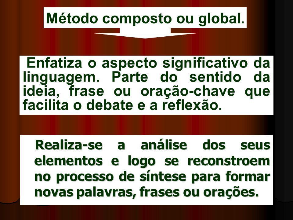 Método composto ou global.