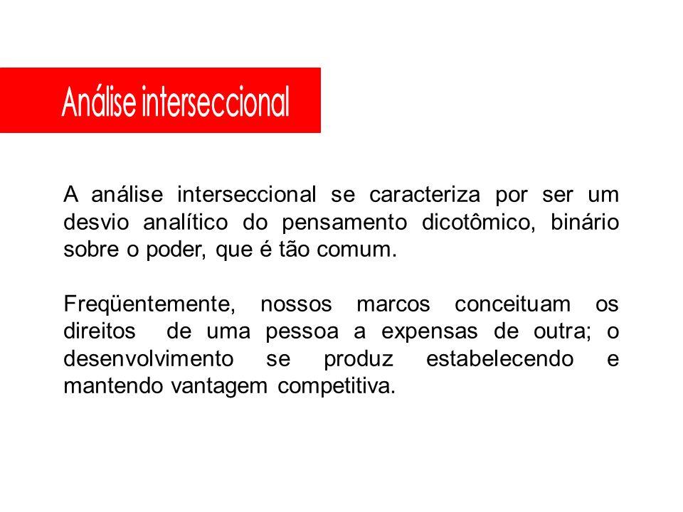 Análise interseccional