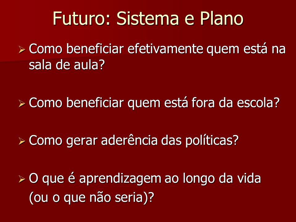 Futuro: Sistema e Plano