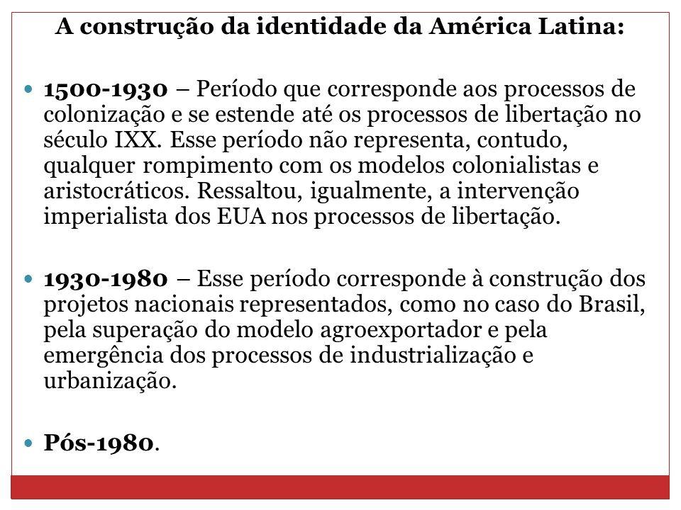 A construção da identidade da América Latina: