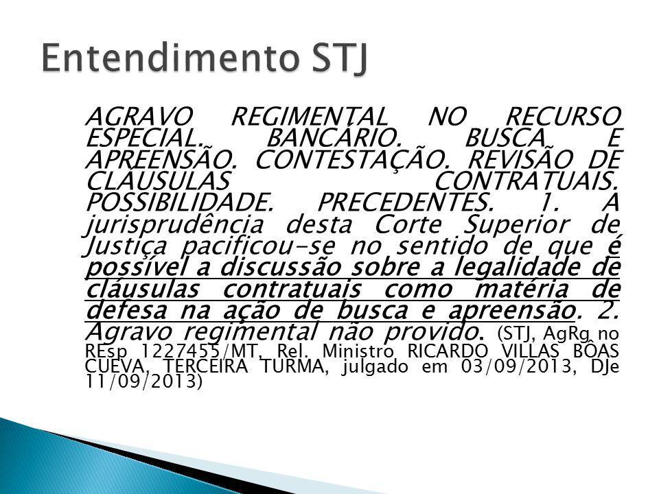 Entendimento STJ